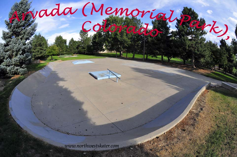 Arvada Memorial Park Colorado Skatepark