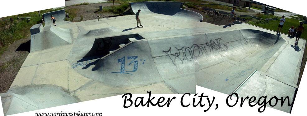 Baker City Oregon Skatepark