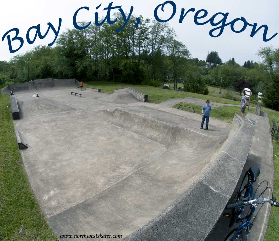 bay city skatepark oregon