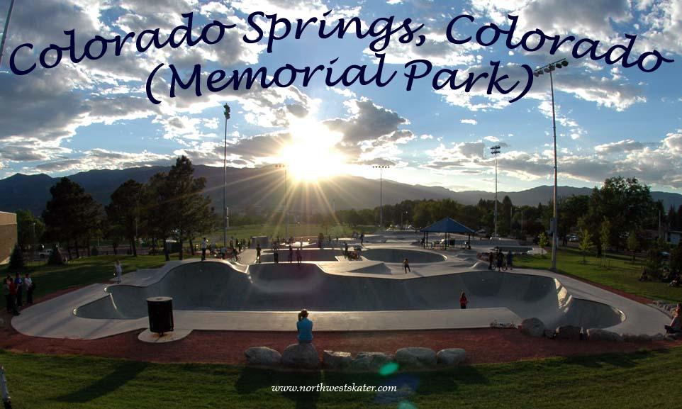 Colorado springs memorial park colorado skatepark - Memorial gardens colorado springs ...