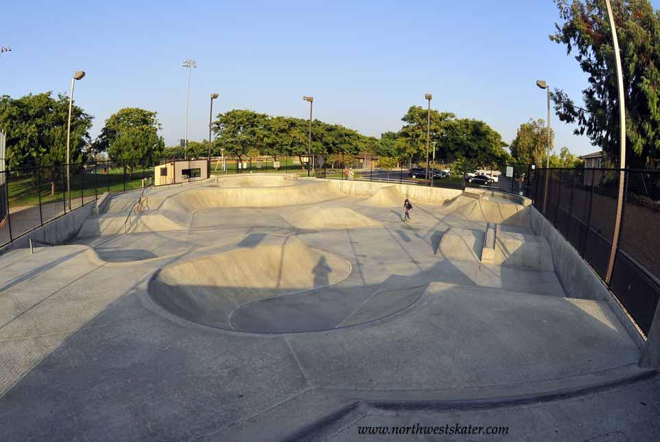 Irvine California Skatepark