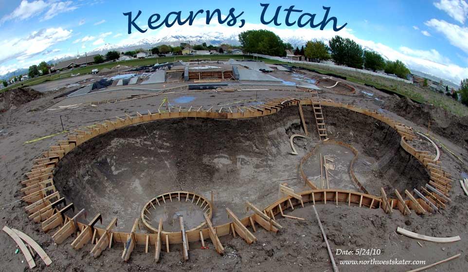 Kearns Skatepark Utah Progression