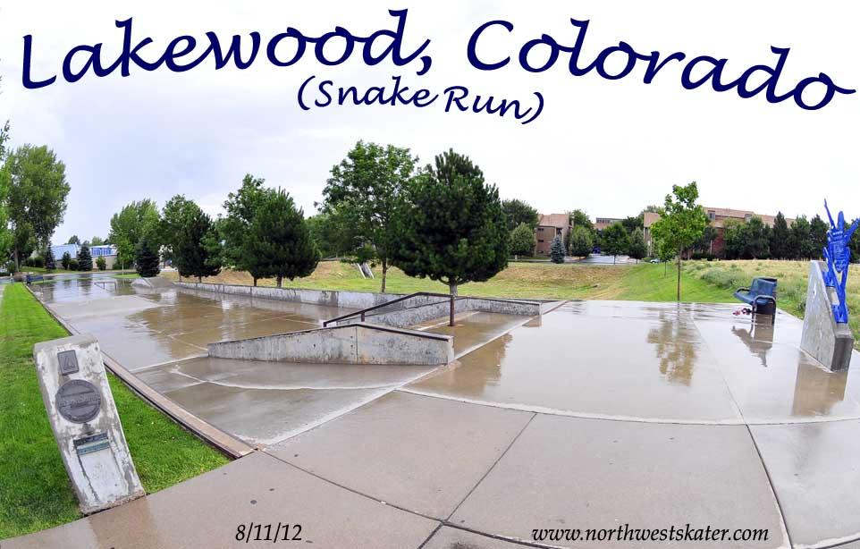 lakewood snake run colorado skatepark. Black Bedroom Furniture Sets. Home Design Ideas