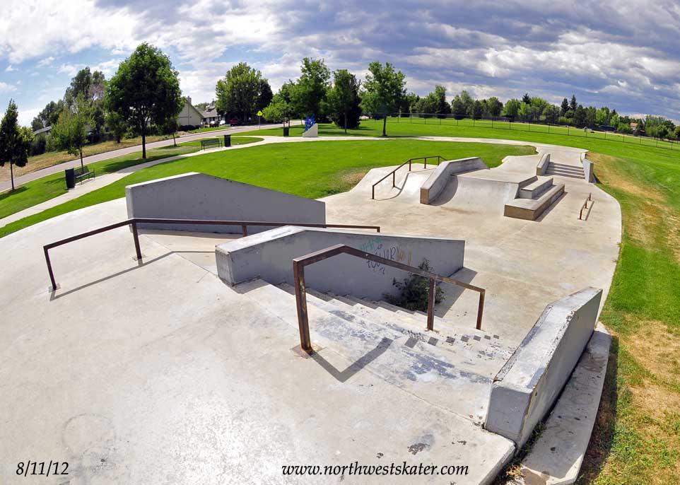 Lakewood Street Skate Colorado Skatepark