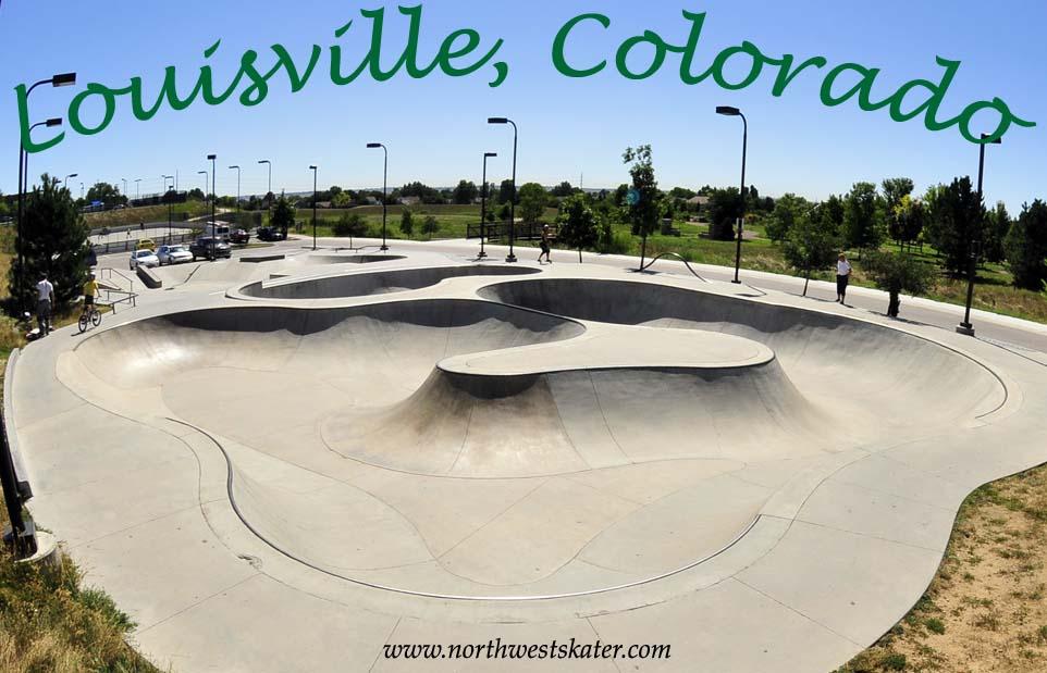 New Louisville Skatepark Louisville Colorado Skatepark