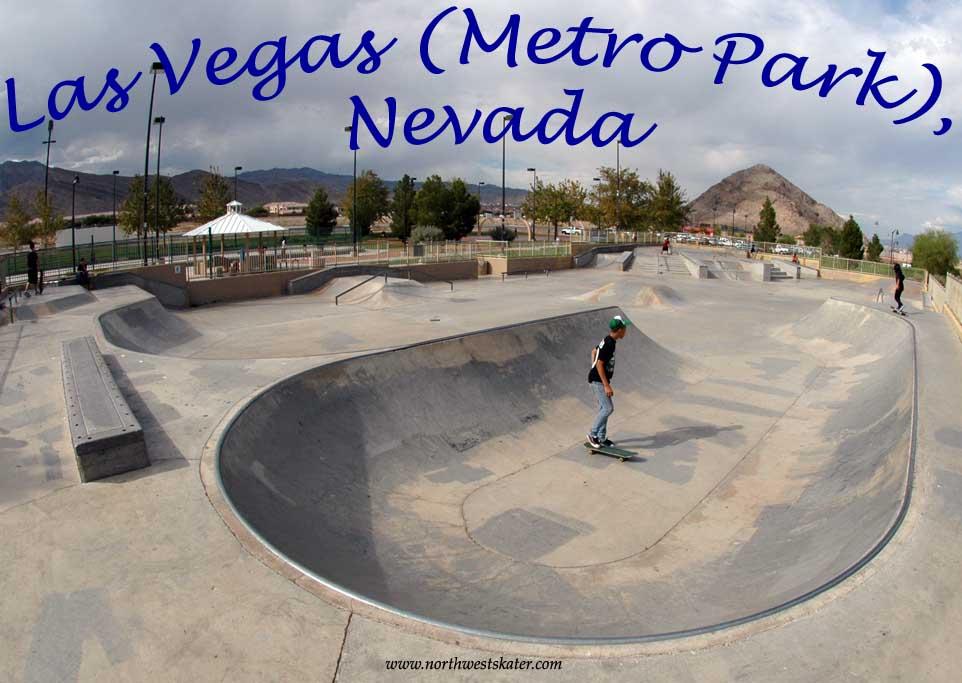 Las Vegas Metro Park Nevada Skatepark