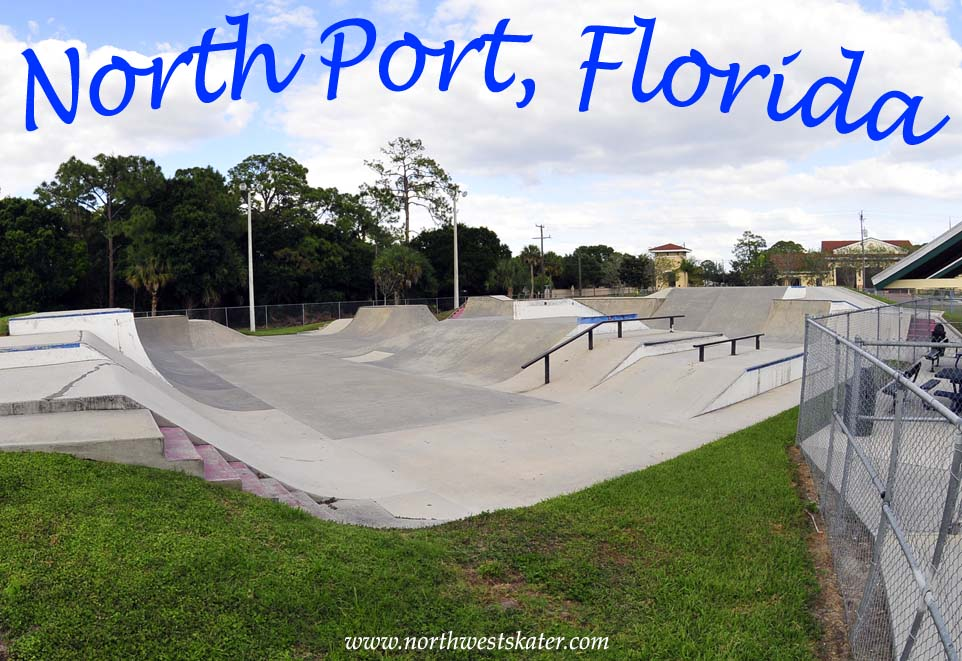 Florida Skateparks Map.North Port Florida Skatepark