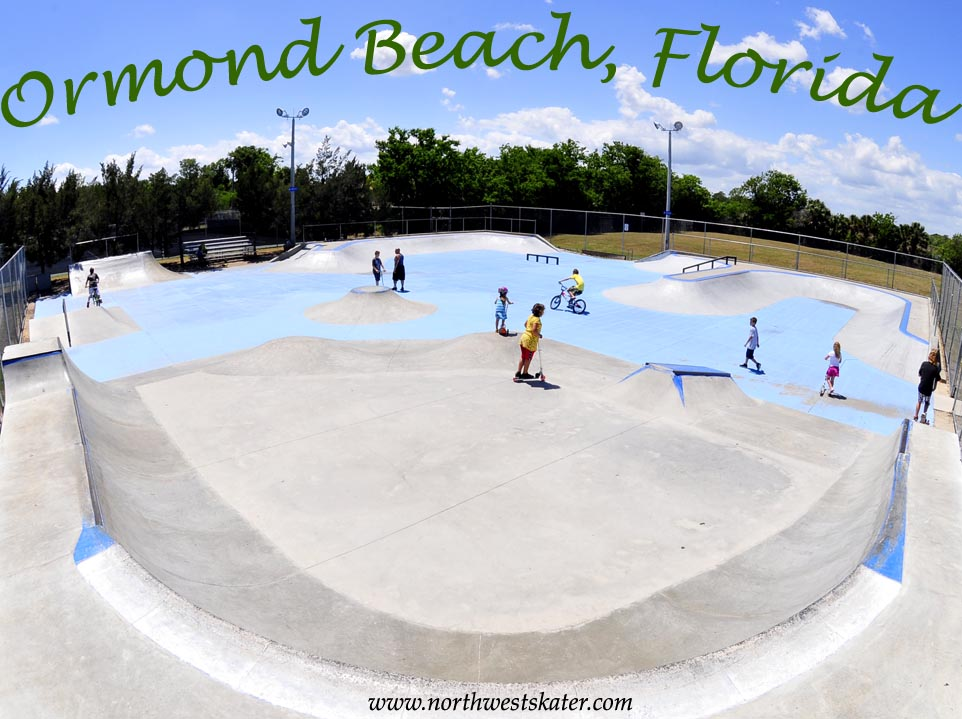 Florida Skateparks Map.Ormond Beach Florida Skatepark