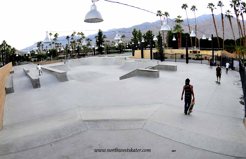 Palm Springs California Skatepark