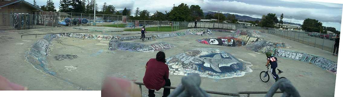 Petaluma Skatepark California
