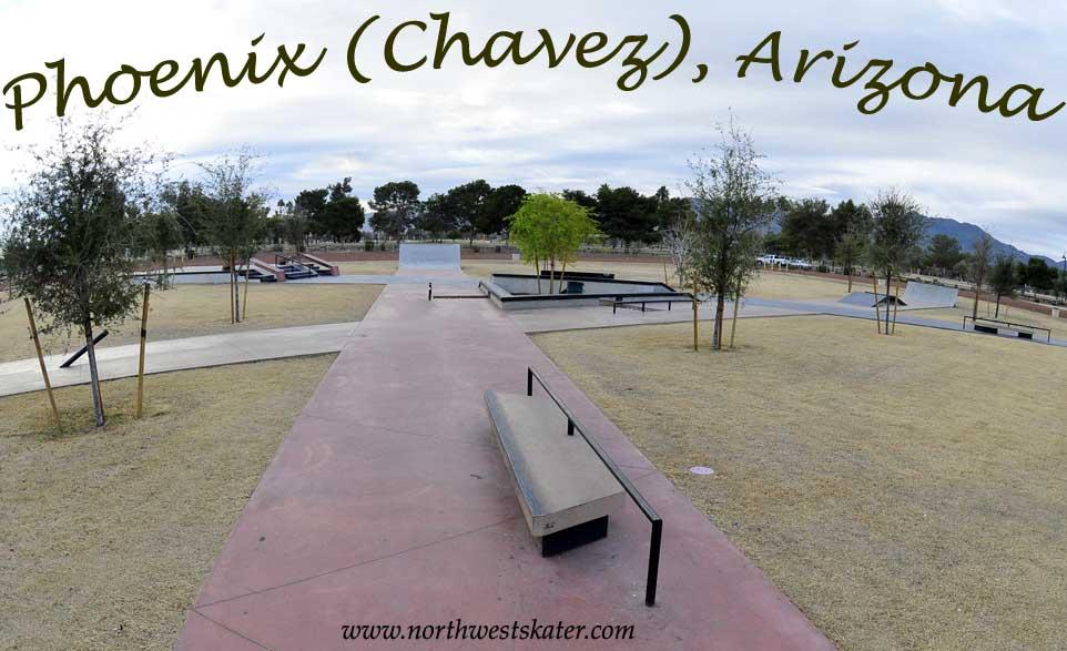 Phoenix Cesar Chavez Skate Plaza Arizona Skatepark