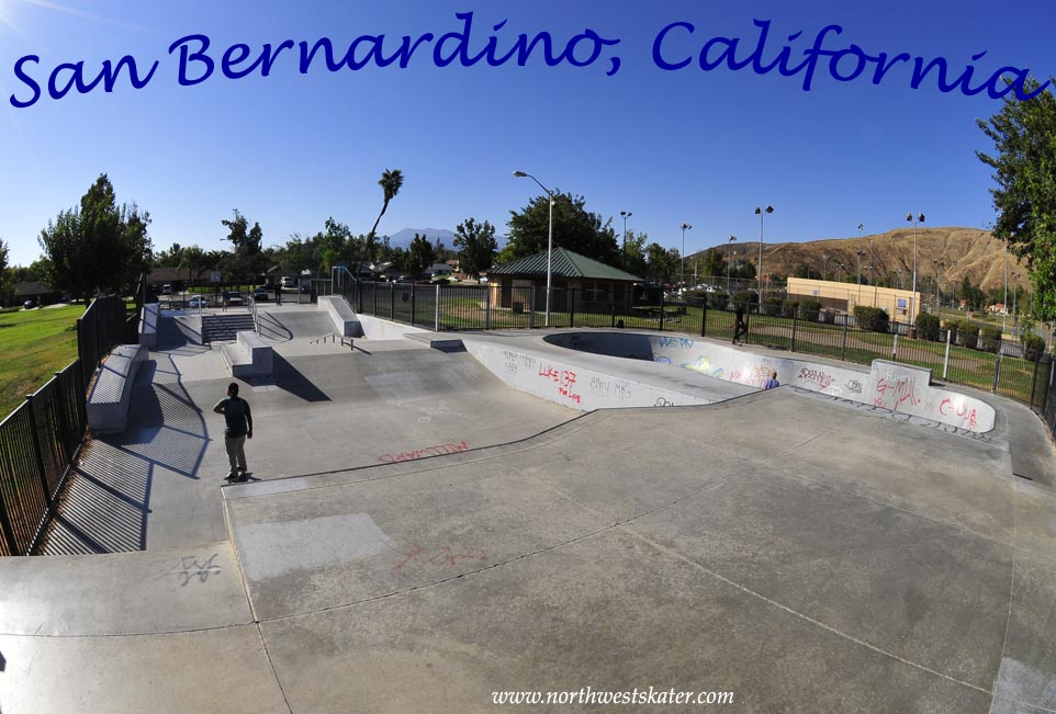 San Bernardino California Skatepark