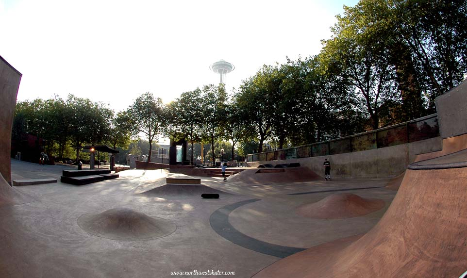 St Thomas >> Seattle Center Skatepark, Washington