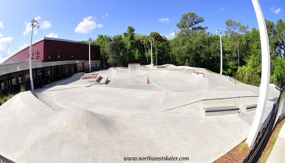 A skatepark, or skate park, is a purpose-built recreational environment made for skateboarding, BMX, scooter, wheelchair, and aggressive inline skating.A skatepark.