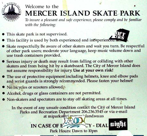 Mercer Island, WA Skatepark