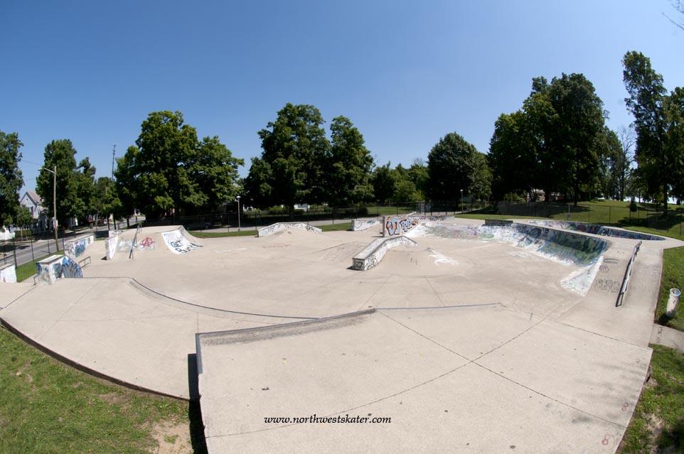 Richmond Skatepark, Indiana
