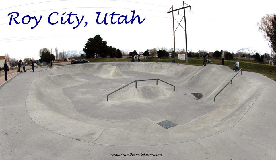 Roy City Utah Skatepark